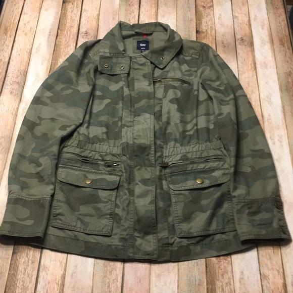 511f908a3d3ed GAP Jackets & Coats | Size M Factory Camo Utility Jacket | Poshmark